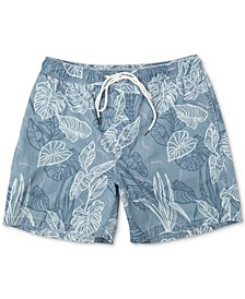 Men's Tropical-Print Board Shorts