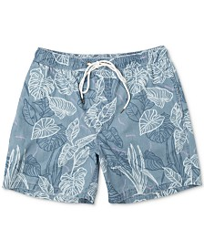 RVCA Men's Tropical-Print Board Shorts