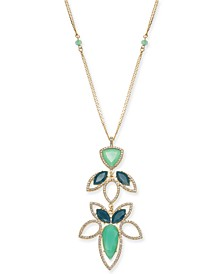 "INC Long Pendant Necklace, 28"" + 3"" extender, Created for Macy's"