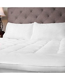 Hypoallergenic Down Alternative Fiber Bed King Mattress Topper