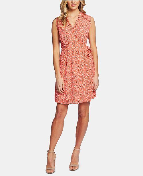 d9cf3d2156d683 CeCe Sakura Delight Floral-Print Wrap Dress & Reviews - Dresses ...