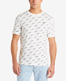 Lacoste Men's L!VE Logo Graphic T-Shirt