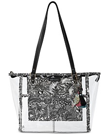 Festival Clear Medium Tote