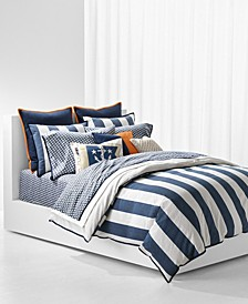 Casey Stripe Full/Queen Duvet Set
