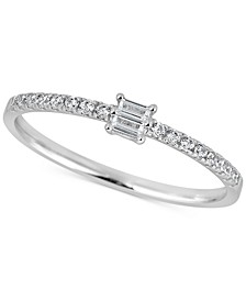 Diamond Baguette Ring (1/4 ct. t.w.) in 14k Gold