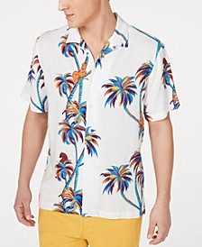 Men's Twisted Palms Shirt, Created for Macy's