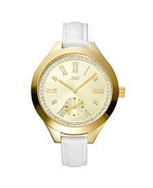 Women's Aria Diamond (1/10 ct.t.w.) 18k Gold Plated Stainless Steel Watch