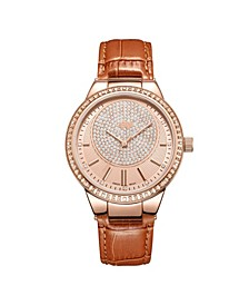 Women's Camille Diamond (1/6 ct.t.w.) 18k rose Gold Plated Stainless Steel Watch