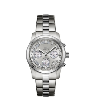 Women's Alessandra Diamond (1/5 ct.t.w.) Stainless Steel Watch
