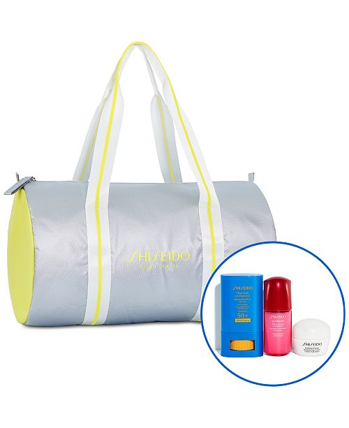 Shiseido 4 Pc. Weekend Sun & Sports Set- Only $28 with any $40 Shiseido purchase (A $61 Value!)