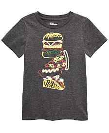 Epic Threads Little Boys Fried Food T-Shirt, Created for Macy's