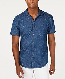 INC Men's Sinclair Denim Shirt, Created for Macy's