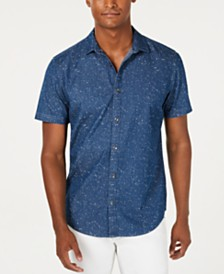 I.N.C. Men's Sinclair Denim Shirt, Created for Macy's
