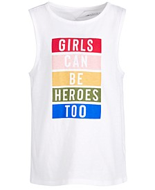 Big Girls Graphic Tank Top, Created for Macy's