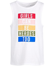 Ideology Big Girls Graphic Tank Top, Created for Macy's