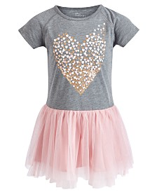 Epic Threads Little Girls Heart Graphic TuTu Dress, Created for Macy's
