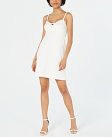 Petite Bow Sheath Dress