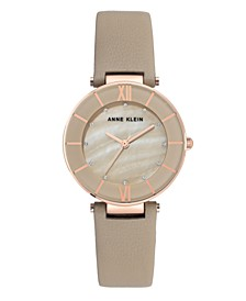 Genuine Mother of Pearl Dial with Swarovski Crystals Watch