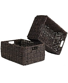 Winsome Granville Set of 2 Medium Foldable Baskets