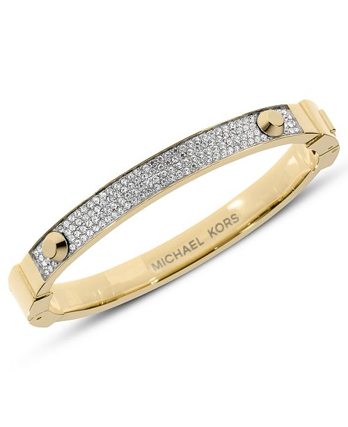 07996ec03a349 Michael Kors Pave Hinge Bracelet   Reviews - Fashion Jewelry ...