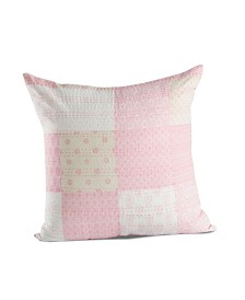 Traditional Patola Kantha Throw Pillow