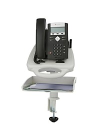 Mind Reader Ergo-Comfort Adjustable Telephone Tray