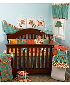 Gypsy 4-Piece Crib Bedding Set