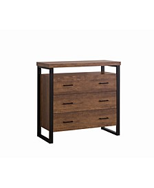 Logan 3-Drawer Accent Cabinet