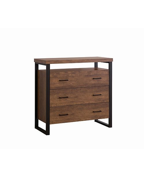 Coaster Home Furnishings Logan 3-Drawer Accent Cabinet