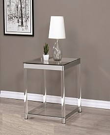 Riverside Square End Table with Shelf