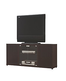 Chandler TV Console with 2 Magnetic-Push Doors