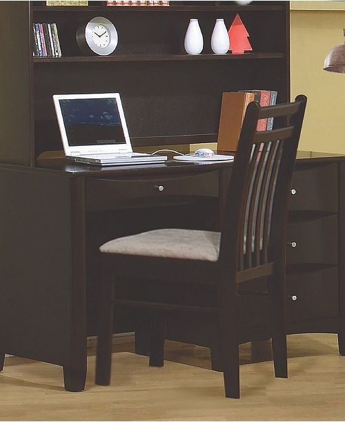 Coaster Home Furnishings Carsen Slat Back Chair Cappuccino