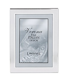 "Lawrence Frames Brushed Metal Picture Frame - 5"" x 7"""