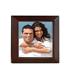 """Walnut Wood Picture Frame - Estero Collection - 5"""" x 5"""""""