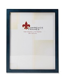 """Blue Wood Picture Frame - Gallery Collection - 8"""" x 10"""""""
