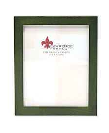 "Green Wood Picture Frame - Gallery Collection - 4"" x 5"""