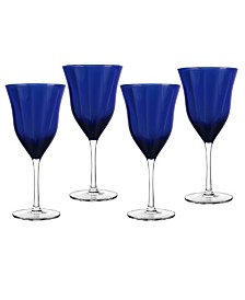Qualia Glass Meridian Goblets, Set Of 4