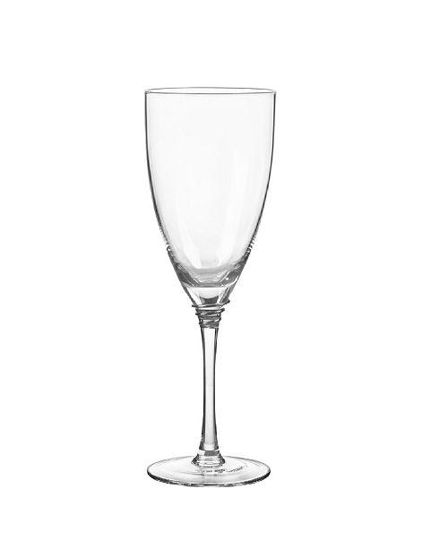 Qualia Glass Helix Platinum Wine Glasses, Set Of 4