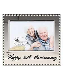 "Happy 50Th Anniversary Picture Frame - 4"" x 6"""