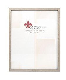 "Lawrence Frames Gray Wood Picture Frame - Gallery Collection - 11"" x 14"""