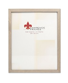"""Lawrence Frames Gray Wood Picture Frame - Gallery Collection - 8"""" x 10"""""""