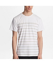 Paris Striped Logo Tee