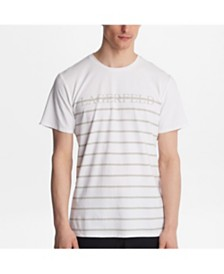 Karl Lagerfeld Paris Striped Logo Tee