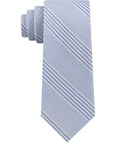fb0fa14791c3 Tommy Hilfiger Men's Seersucker Stripe Silk Tie