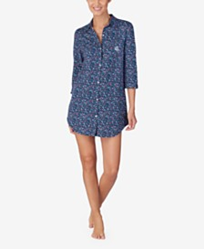 Lauren Ralph Lauren Cotton Knit Sleepshirt