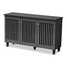 Fernanda 3-Door Cabinet, Quick Ship