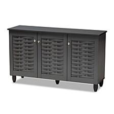 Winda 3-Door Cabinet