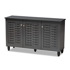 Winda 3-Door Cabinet, Quick Ship