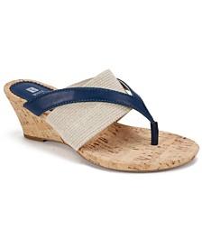 White Mountain Alanna Wedge Sandals