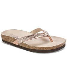 White Mountain Hadyn Flat Sandals